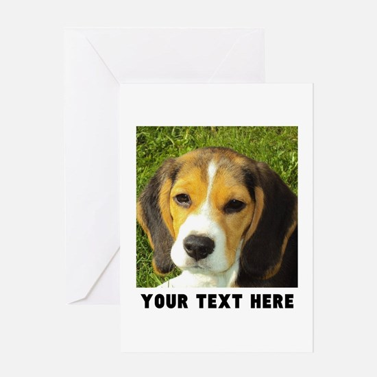 Dog Photo Personalized Greeting Card
