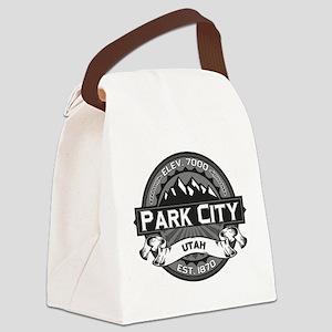 Park City Grey Canvas Lunch Bag