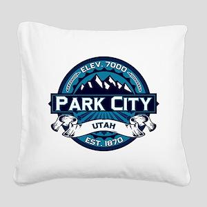 Park City Ice Square Canvas Pillow