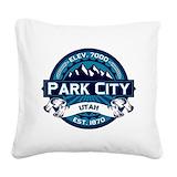 Park city Square Canvas Pillows