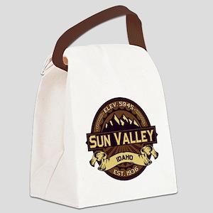 Sun Valley Sepia Canvas Lunch Bag