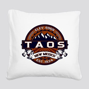 Taos Vibrant Square Canvas Pillow