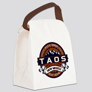 Taos Vibrant Canvas Lunch Bag