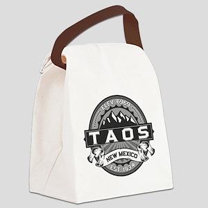 Taos Grey Canvas Lunch Bag
