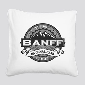 Banff Natl Park Ansel Adams Square Canvas Pillow