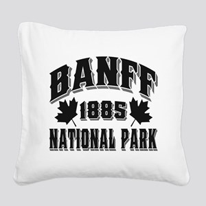 Banff NP Old Style Obsidian Square Canvas Pill