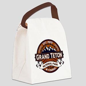 Grand Teton Vibrant Canvas Lunch Bag