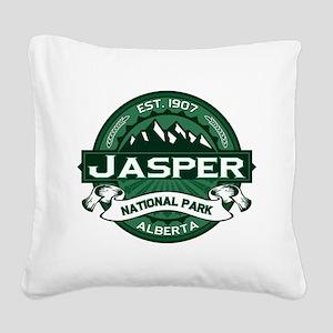 Jasper Forest Square Canvas Pillow