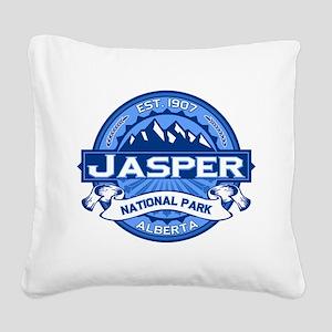 Jasper Cobalt Square Canvas Pillow