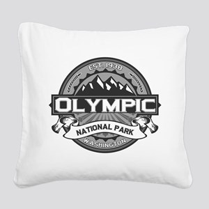 Olympic Ansel Adams Square Canvas Pillow