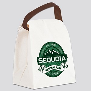 Sequoia Forest Canvas Lunch Bag