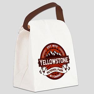 Yellowstone Crimson Canvas Lunch Bag