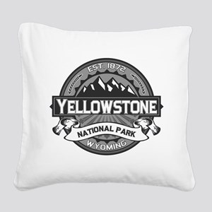 Yellowstone Ansel Adams Square Canvas Pillow