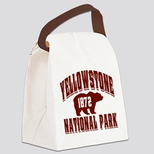 Yellowstone Old Style Vermillion Canvas Lunch