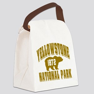 Yellowstone Old Style Gold Canvas Lunch Bag