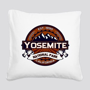 Yosemite Vibrant Square Canvas Pillow