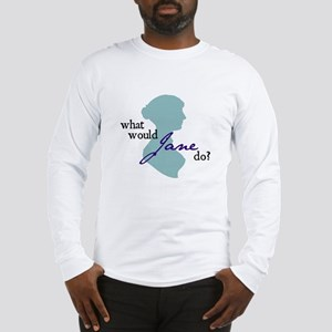 wwjdsquare Long Sleeve T-Shirt