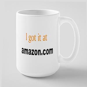 I got it at amazon.com Large Mug