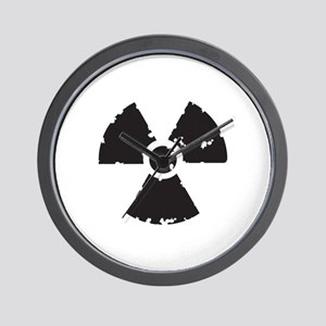 Nuclear Sign Wall Clock