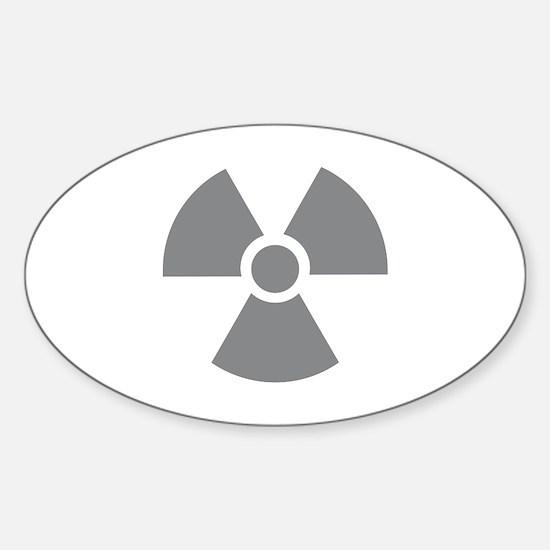 Radioactivity Sticker (Oval)