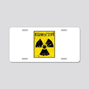 Radioactive Aluminum License Plate