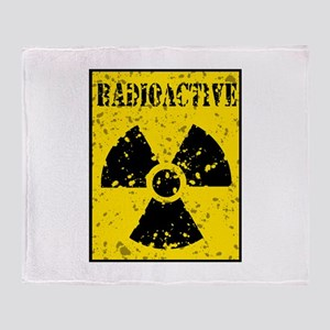 Radioactive Throw Blanket