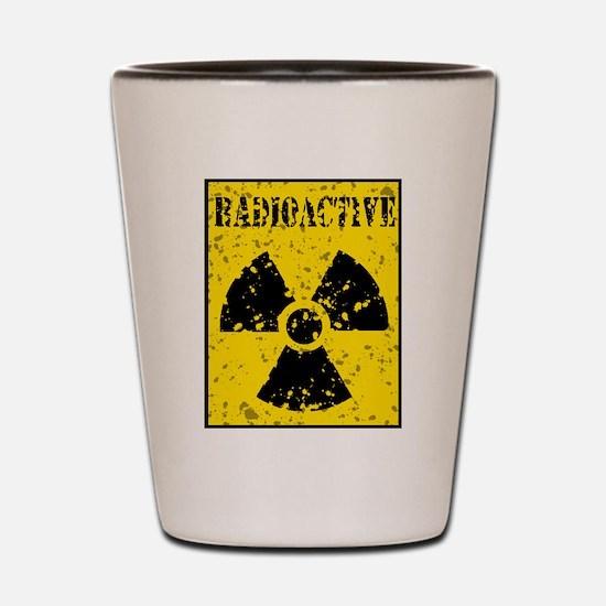 Radioactive Shot Glass
