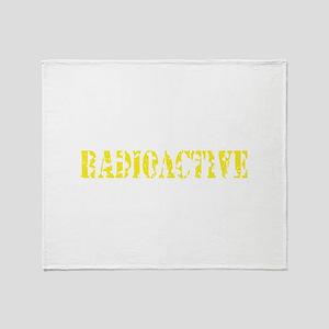 Radioactive Throw Blanket