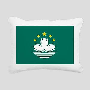 Macau Flag Rectangular Canvas Pillow
