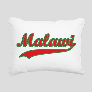 Retro Malawi Rectangular Canvas Pillow