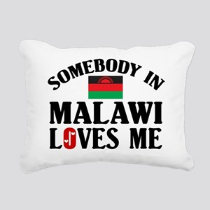 Somebody In Malawi Rectangular Canvas Pillow