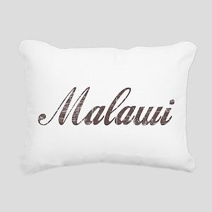Vintage Malawi Rectangular Canvas Pillow