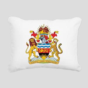 Malawi Coat Of Arms Rectangular Canvas Pillow