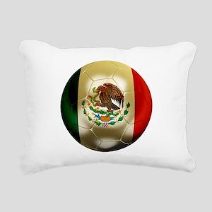 Mexico World Cup Rectangular Canvas Pillow