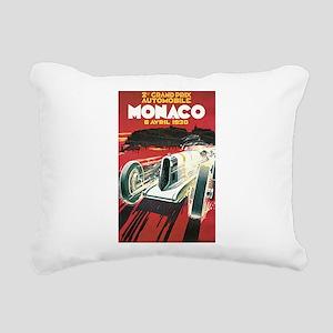 Monaco Grand Prix 1930 Rectangular Canvas Pillow