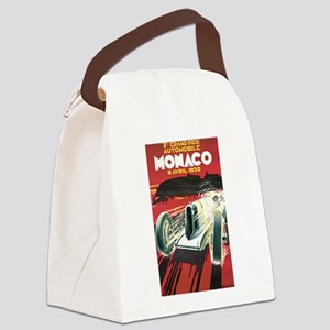 Monaco Grand Prix 1930 Canvas Lunch Bag