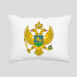 Montenegro Coat Of Arms Rectangular Canvas Pillow
