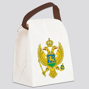 Montenegro Coat Of Arms Canvas Lunch Bag