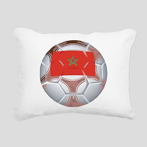 Morocco Soccer Rectangular Canvas Pillow