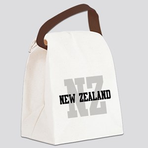 NZ New Zealand Canvas Lunch Bag