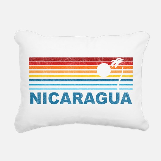 Cute Nicaraguan Rectangular Canvas Pillow