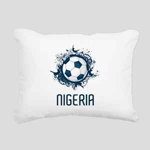 Nigeria Football Rectangular Canvas Pillow