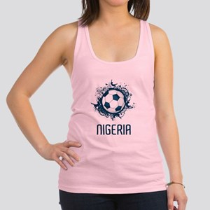 Nigeria Football Racerback Tank Top