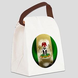 Nigeria Football Canvas Lunch Bag