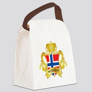 Gold Norway Canvas Lunch Bag