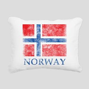 Vintage Norway Rectangular Canvas Pillow