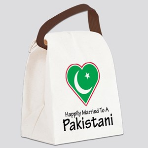 Happily Married Pakistani Canvas Lunch Bag