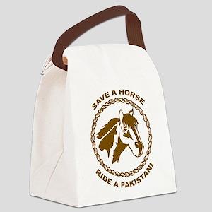 Ride A Pakistani Canvas Lunch Bag