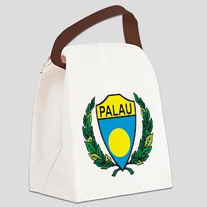 Stylized Palau Canvas Lunch Bag