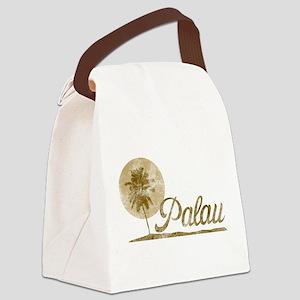 Palm Tree Palau Canvas Lunch Bag